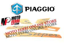 PIAGGIO VESPA GTS SPORT 125 250 300 ADESIVO ADESIVI DECORO SET STICKER ARANCIONE