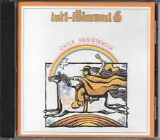 """INTI ILLIMANI - RARO CD FUORI CATALOGO 1994 """" INTI ILLIMANI 6 CHILE RESISTENCIA"""