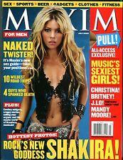 Maxim Magazine July 2002 Shakira EX No ML 100616jhe