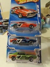 Hot Wheels Lot of (3) AMC Javelin AMX types!! Multi-colored Muscle Mania