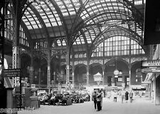 Old New York City Pennsylvania Railroad Station Photo Penn Station 1930s