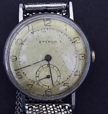 Vintage Eterna Hand-winding Mens Watch 1941 - Keeping Excellent Time