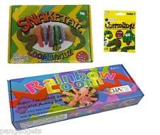 Colourful Rainbow Loom With Snake Tail And Charms Bands Bracelet Making Kit