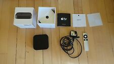 Apple TV 2 with box, instructions and original apple stickers