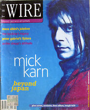 WIRE 122 1994 Mick Karn Archie Shepp Tim Buckley Derek Bailey Peter Gabriel