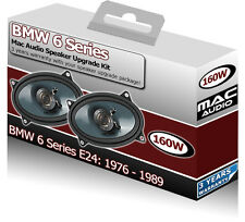 "BMW 6 Series E24 Parcel Shelf speakers Mac Audio 4x6"" car speaker kit 160W"