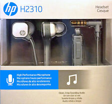 HP H2310 Pearl White In Ear Headset With Microphone & Remote