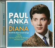 PAUL ANKA DIANA CD - LONELY BOY , PUPPY LOVE AND MANY MORE