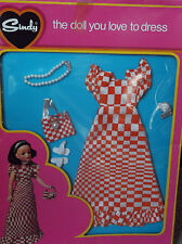 Rare Vintage Pedigree Trendy Sindy Never Removed Complete 1973 Checkmate NRFB
