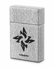 Firebird by Colibri UJF667A3 Fury Single Torch Cigar Lighter Silver Logo