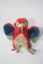 Steiff Tier Papagei Lora, Sammlerstück mit Knopf