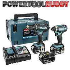 MAKITA DLX2131JX1 18volt Li-ion Combi/Impact Kit 3 x 3.0amp Batteries