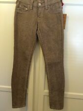 True Religion Woman's Halle Skinny Jean In RX Seal Size 24