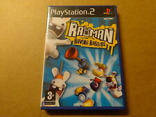 PS2 GAME / RAYMAN: RAVING RABBIDS (PLAYSTATION)