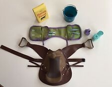 American Girl Doll Retired HORSE WESTERN SADDLE SET - COMPLETE