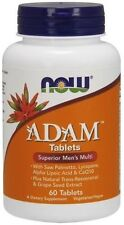 ADAM Superior Men's Multiple Vitamin Now Foods 60 Tabs