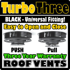 Fiat Ducato CamperVan Camper Van Motorhome Mobile Home Roof Top Air Vent BLACK