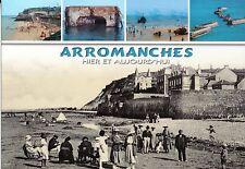WW2 - CP - Arromanches hier et aujourd'hui