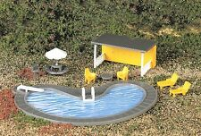 NEW !! HO Scale Pool & ACCESSORIES  by Bachmann
