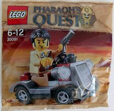 LEGO Pharaoh's Quest 30091 (Desert Rover & Figure) Promo Bag