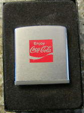 Vintage 1960's Coca Cola Zippo Rule Tape Measure w/Box