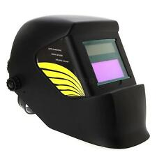 Fully Auto-Darkening Solar Welding Helmet Welding Grinding Welder Mask Black