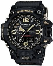 CASIO GWG-1000-1AJF G-SHOCK MUDMASTER TOUGH SOLAR TRIPLE SENSOR JAPAN DOMESTIC