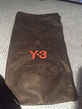 AUTHENTIC PAIR Y-3 YOHJI YAMAMOTO BLACK DUST COVER BAG TRAVEL