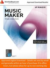 Magix Music Maker 2017 - for PC - (Approved Digital Download)