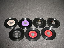 Vintage 45 RPMs Stan Getz/Johnny Mathis/ Harry Belafonte and More! Lot of 7