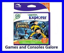NEW LeapFrog LeapPad Leap Pad / Leapster Explorer Game - Wolverine And The X-Men