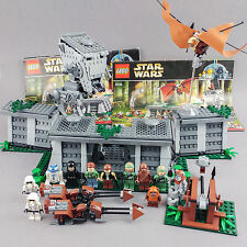 LEGO 8038 STAR WARS battaglia di Endor 100% Complete Set Minifigures EWOK AT-ST
