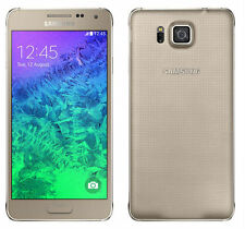 "Samsung Galaxy Alpha SM-G850F 4.7"" International 32GB Libre TELEFONO MOVIL Oro"