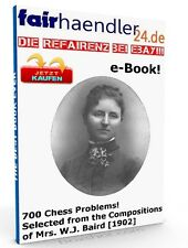 ENGLISH eBOOK 700 CHESS PROBLEMS von MRS. J.W.BAIRD 700 SCHACH PROBLEME E-LIZENZ
