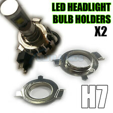 H7 METAL LED HEADLIGHT CONVERSION KIT BULB HOLDERS CLIPS ASTRA VW AUDI MERC