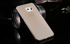 Ultra Clear Silicone Case Cover For Samsung Galaxy s3/4/5 mini + Tempered Glass