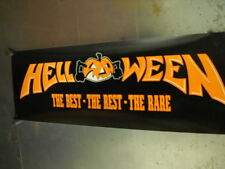 HELLOWEEN Record Biz PROMO POSTER Best Rest Rare super mint condition