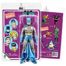 """BATMAN 2.0 8"""" Figure Retro Mego Style Card Figures Toy Co. LE100 2016"""
