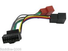 JVC 16 Pin Auto Radio Stereo ISO piombo Cablaggio adattatore connettore cavo guaina