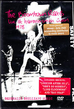 BOOMTOWN RATS live at hammersmith odeon 1978 DVD NEU OVP