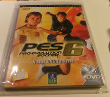Jeu PS2 Playstation 2 - Guide Officiel PES 6 Neuf + DVD - VF