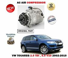 FOR VW TOUAREG 5.0 V10 TDI R50 2.5 R5 2002-2010 AC AIR CONDITION COMPRESSOR UNIT
