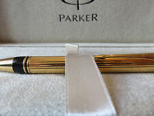 PARKER DUOFOLD PENCIL 23K GOLD PLATED  0.9mm PENCIL  NEW IN ORIGINAL BOX 91342