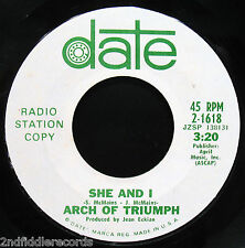 ARCH OF TRIUMPH-My Year Is A Day-Mega Rare Psych Garage Rock DJ 45-DATE #2-1618