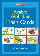Arabic Alphabet Flash Cards for Muslim Children Ages: 3 - 6 Years