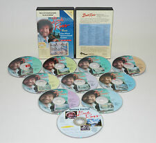 BOB ROSS, 10 DVD SET, GETTING STARTED PLUS, 9 ONE HOUR, NON BROADCAST PAINTINGS