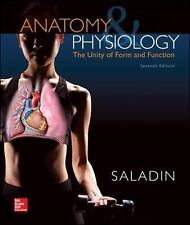 Anatomy & Physiology: The Unity of Form and Function, Saladin, Kenneth, New Book