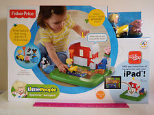 Fisher Price Little People Apptivity Barnyard - w/ Free App - Ages 1 1/2 - 4 yrs