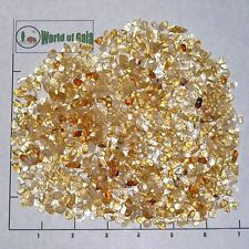 CITRINE 5-11mm tumbled, 1/2 lb bulk xmini+ stones, quartz golden yellow