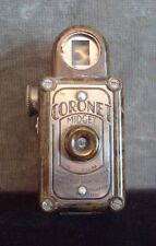 VINTAGE SUB - MINIATURE CAMERA CORONET MIDGET 16mm COLOUR - OLIVE GREEN